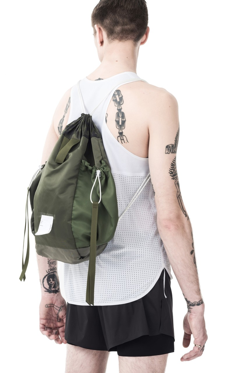 Satisfy Bombardier Gym Bag in Green by Satisfy