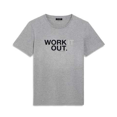 T-shirt WORK IT OUT