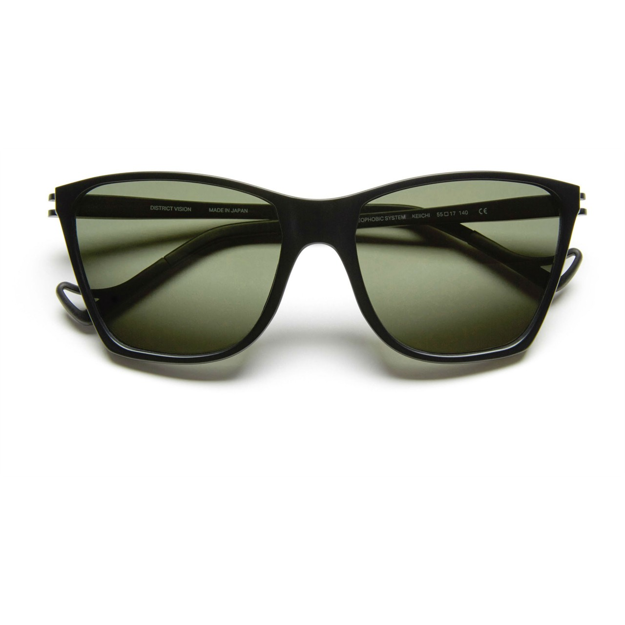 District Vision Keiichi Running Sunglasses in Black