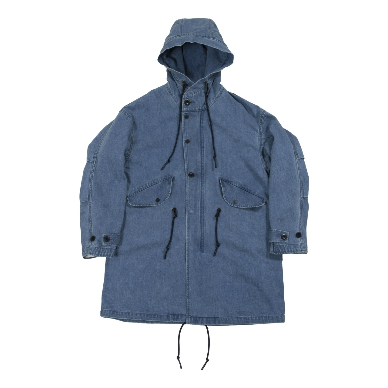 Bluey Denim Mods Coat