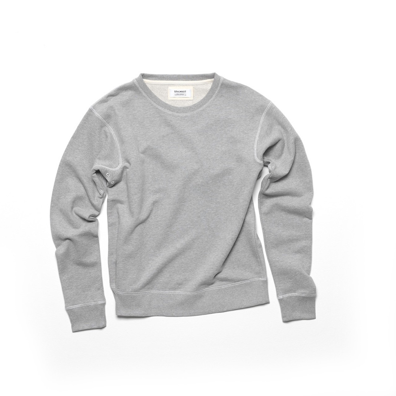 Spalwart Team Crew Sweatshirt in Grey Melange