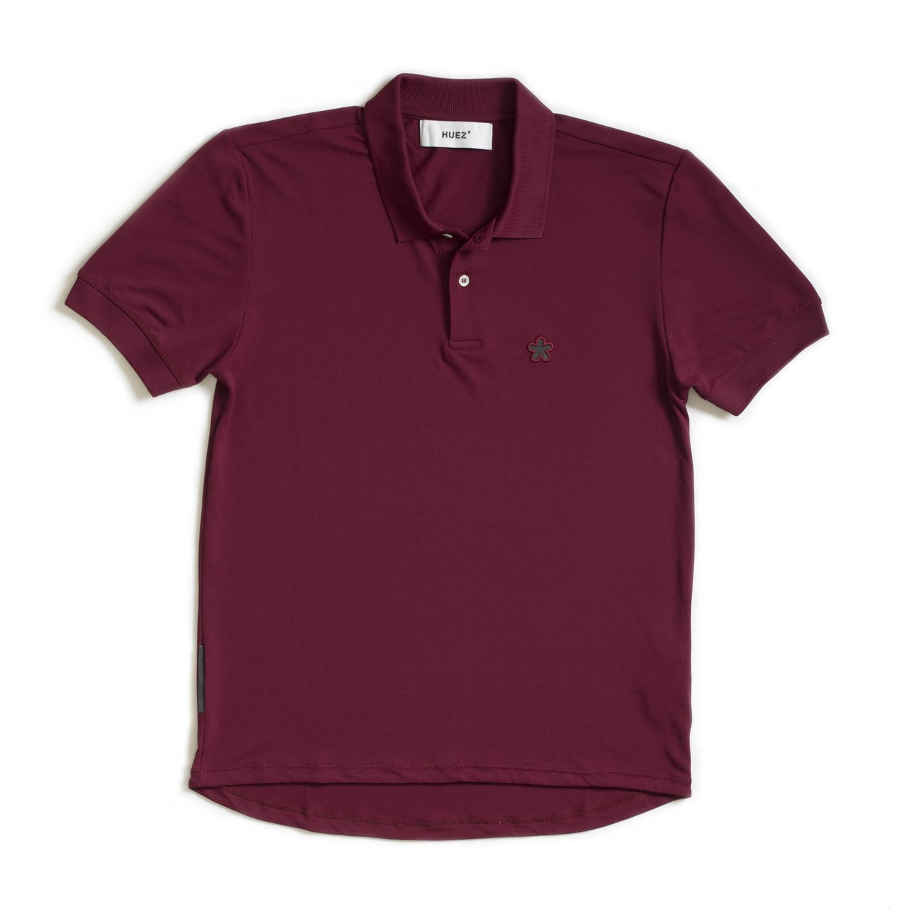 Huez Pro Pique Cycling Polo in Purple