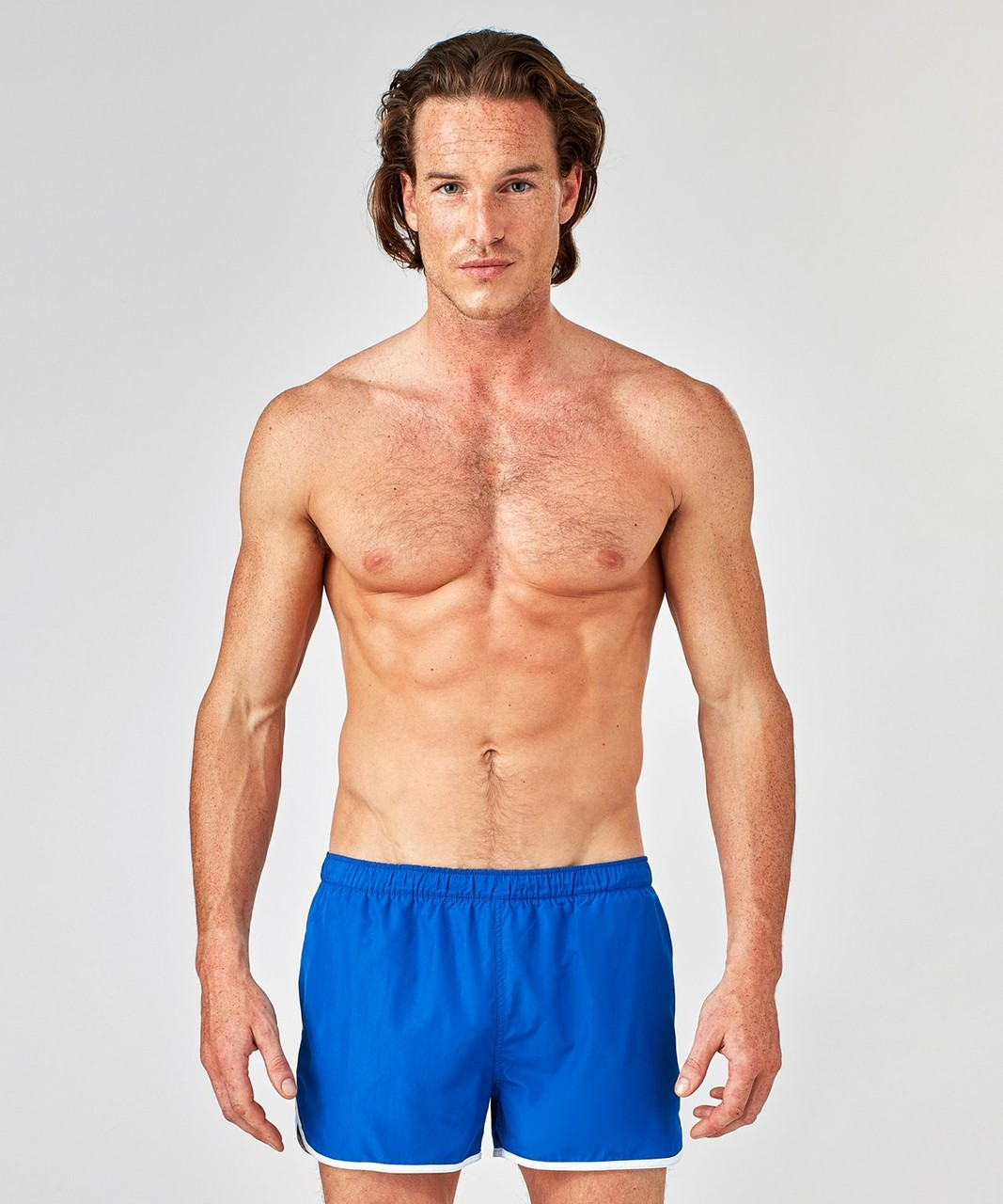 Ron Dorff Marathon Swim Shorts in Klein Blue