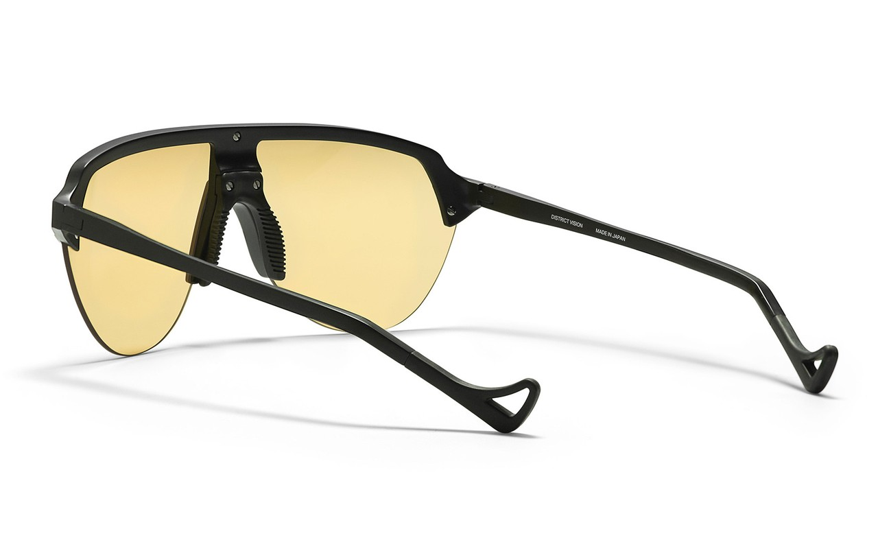 District Vision Nagata Speed Blade Sunglasses in SY NG