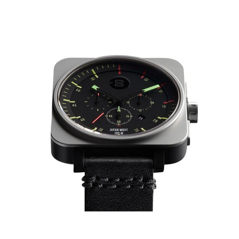 Square Chrono Watch