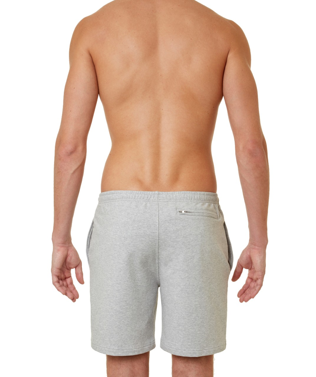 Ron Dorff Summer Jogging Shorts in Grey Melange
