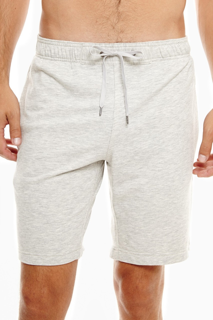 Onia Ike Terry Mens Shorts Heather Grey