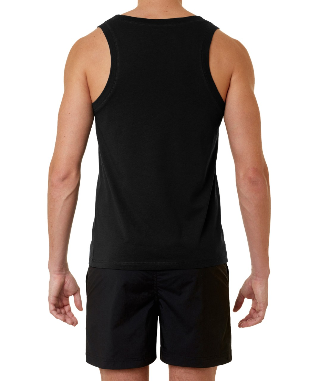 Ron Dorff Tank Top DISCIPLINE Small Print in Black