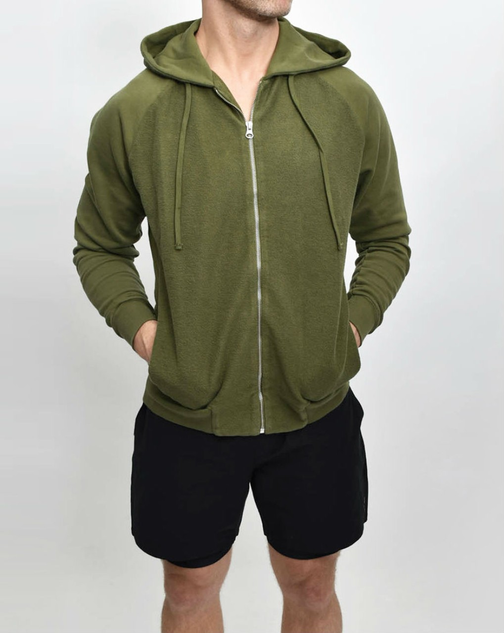 Les Basics Le Zip Hood in Army