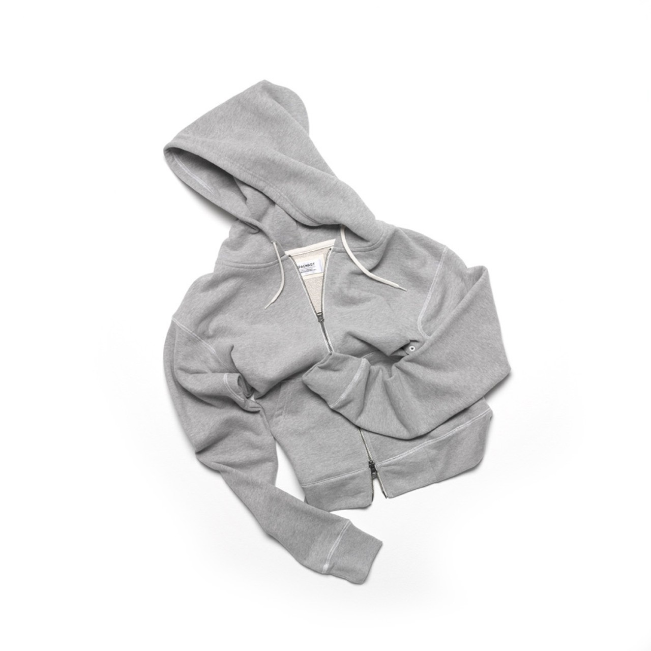 Spalwart Team Zip Hood Sweater Grey Melange