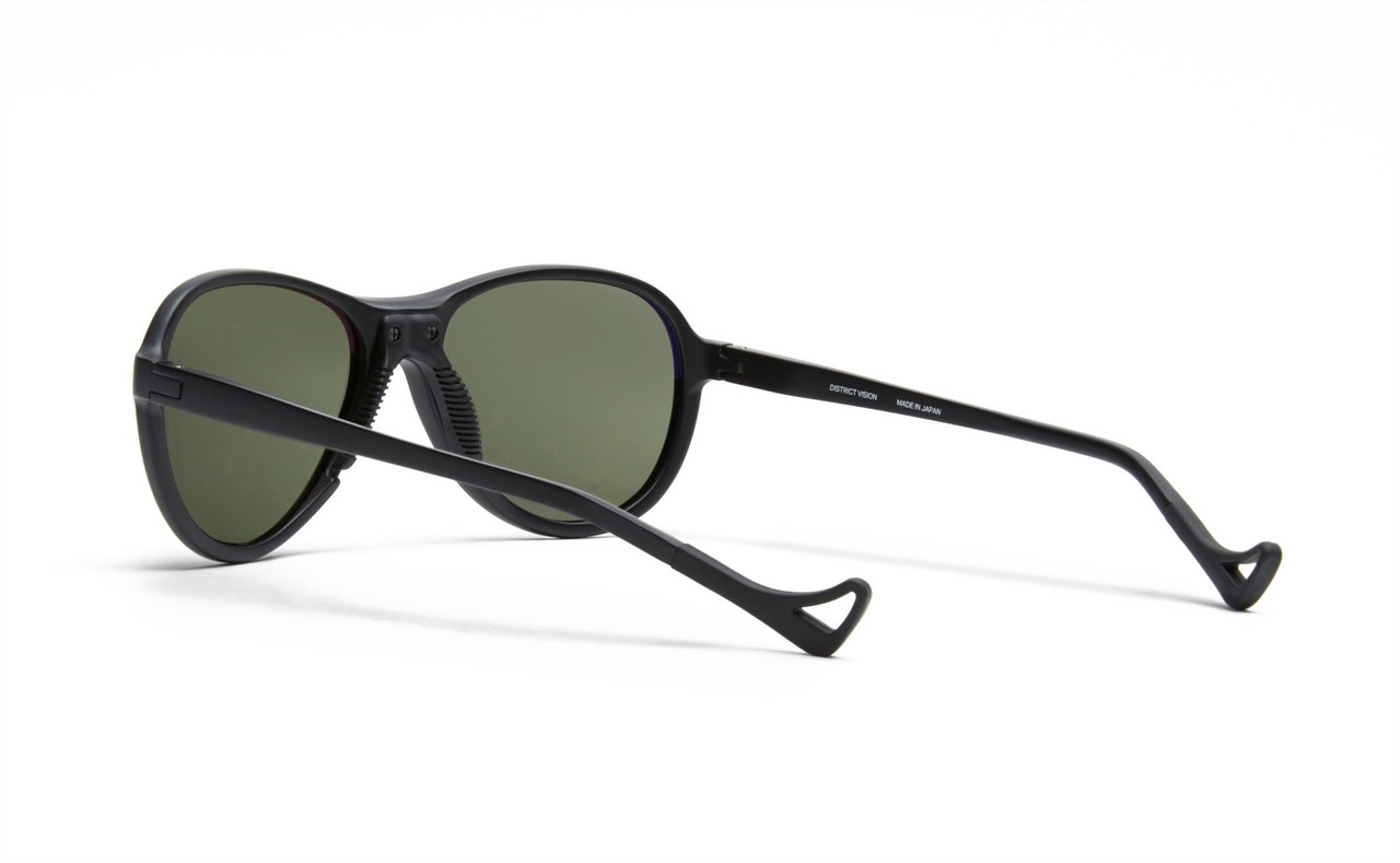 District Vision Kaishiro Explorer Sunglasses in Black