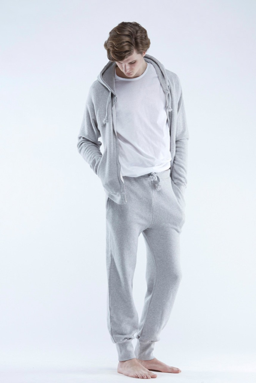 The White Briefs Charger Joggers Grey Melance