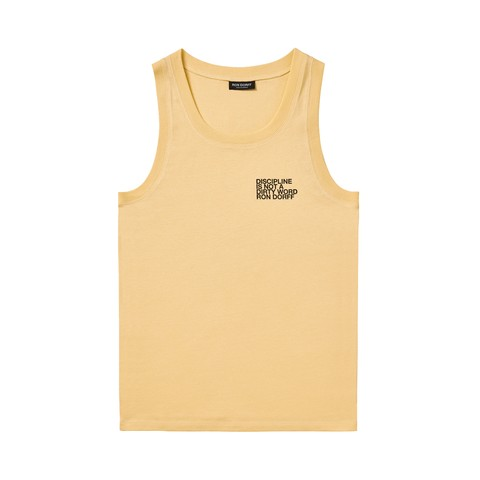 Tank Top DISCIPLINE Small Print