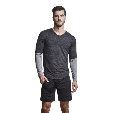 Long Sleeve Foundation Scoop Tee