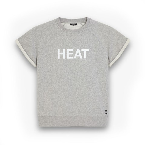 Short-Sleeved Sweatshirt HEAT